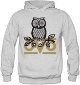 Marc by Marc Jacobs MARC Women's Owl OVO Hooded Sweatshirt Size L