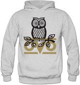 Marc by Marc Jacobs MARC Women's Owl OVO Hooded Sweatshirt Size M