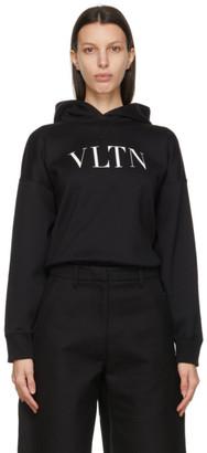 Valentino Black VLTN Hoodie Bodysuit