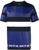 Hood by Air colour block stripe T-Shirt
