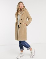 Abercrombie & Fitch sherpa dad coat