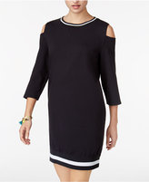 Jessica Simpson The Warmup Juniors' Cold-Shoulder Dress