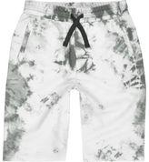 River Island Boys white tie dye shorts