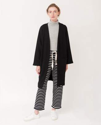Beaumont Organic Black Arianna Organic Cotton Cardigan - Black / Medium - Black