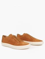 Common Projects Tobacco Low Court Suede Sneakers