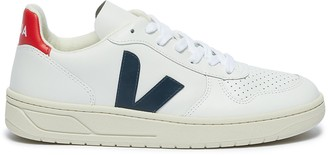 Veja 'V-10' perforated leather sneakers