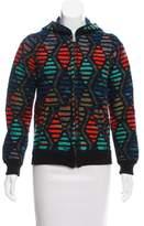 Lucien Pellat-Finet Patterned Knit Jacket