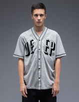 10.Deep Heather Grey Rise & Fall Baseball Jersey
