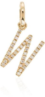 Rosa De La Cruz W 18K yellow gold diamond charm