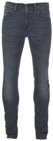 Edwin Ed85 Slim Tapered Denim Jeans Dark Trip Used