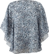 Michael Kors Floral Layered Tunic