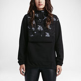 Nike Converse Reflective Fleece Anorak Women's Hoodie