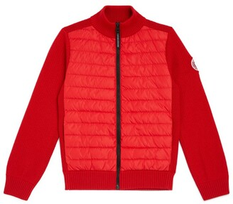 Canada Goose Kids Knitted Hybridge Jacket (6-18 Years)