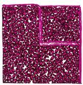 hook + ALBERT Men's Bright Floral Silk Pocket Square