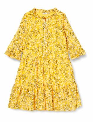 Name It Girls' NKFKIMMIE MIDI 3/4 SL Dress