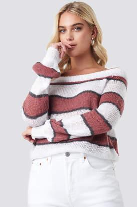 Rut & Circle Rut&Circle Evelyn Off Shoulder Knit Multicolor