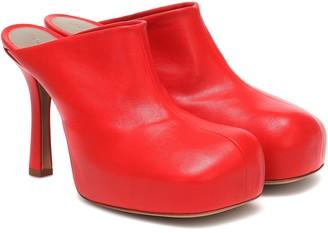 Bottega Veneta Bold leather mules