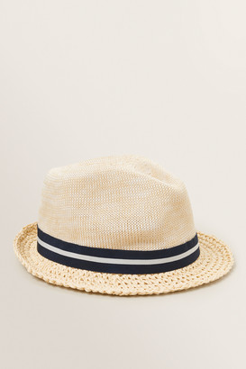 Seed Heritage Woven Trilby Hat