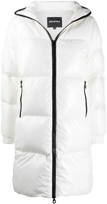 Duvetica Contrast-Trim Padded Coat