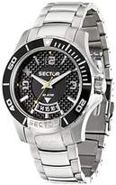 Sector Men's R3253577002 Analog Display Quartz Silver Watch