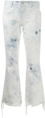 Alanui Frayed Cropped Jeans