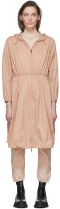 MAX MARA LEISURE Pink Lightweight Sfinge Coat