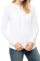 Lilla P Long Sleeve Pocket Top