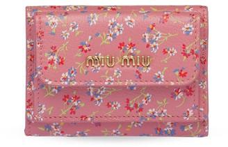 Miu Miu Floral Printed Wallet