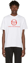 Gosha Rubchinskiy White Sergio Tacchini Edition T-shirt