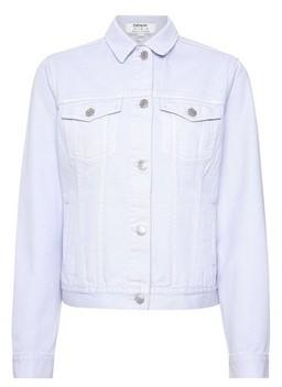 Dorothy Perkins Womens Organic Lilac Denim Jacket