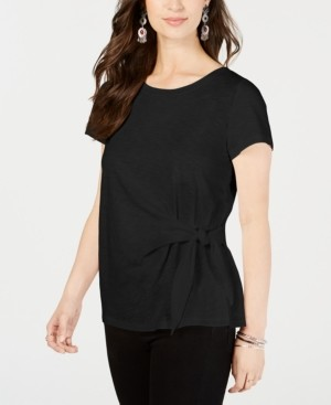 Style&Co. Style & Co Side-Tie Top, Created for Macy's