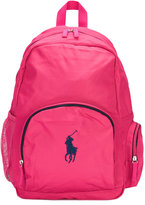 Ralph Lauren logo embroidered backpack