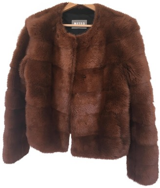Meteo Brown Mink Jacket for Women