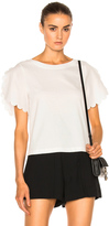 See by Chloe Scallop Sleeve Top