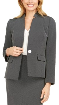 Kasper Notch-Collar Blazer