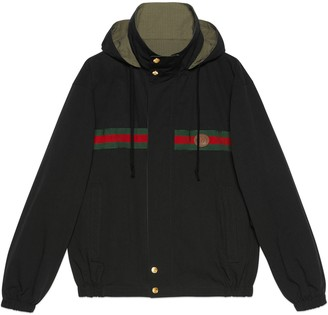 Gucci Reversible cotton nylon jacket