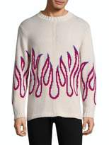 Ovadia & Sons Cotton Flame Sweater
