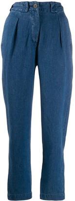 Mara Hoffman Jade high-waisted jeans