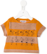 Bobo Choses Weightlifting T-shirt - kids - Cotton/Polyester - 9-12 mth