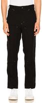 Engineered Garments Painter Pants in Black.