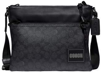 Coach Pacer Signature Coated Canvas Crossbody Bag