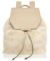 KENDALL and KYLIE Nancy Faux-Fur Backpack