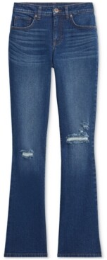 Style&Co. Style & Co Plus Size Destructed Boot-Cut Denim Jeans, Created for Macy's