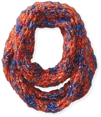 D&Y Women's Chunky Multi Marled Knit Loop Scarf