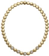 John Hardy Hammered Link Necklace with Diamonds