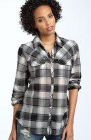 Hinge® Plaid Cotton Shirt