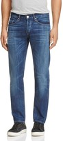 3x1 M3 Slim Straight Fit Jeans in Medium Blue