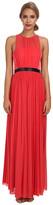 ABS by Allen Schwartz Gown w/ Pleated Skirt