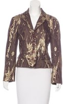 Christian Lacroix Fitted Metallic Blazer