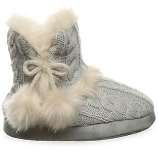 BearPaw Girl's Faux Fur Booties